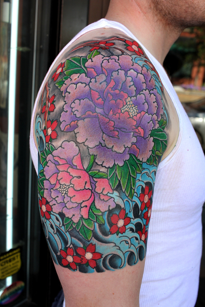 Peonies (cover-up)